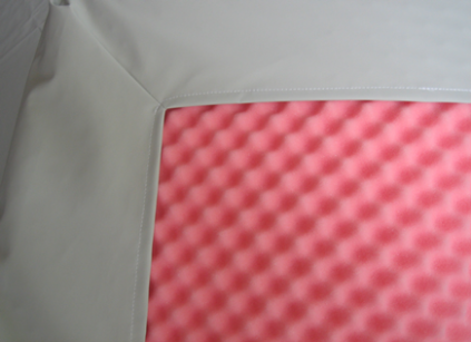 Soft-Cell waterproof cover for overlay mattresses
