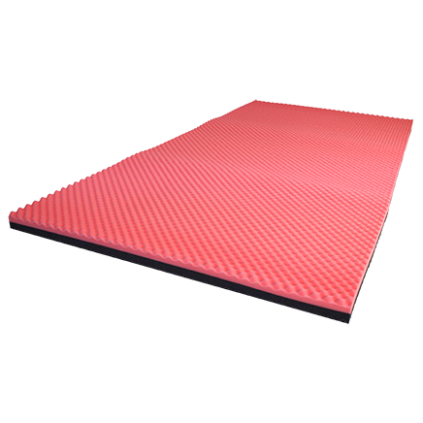 Overlay mattress for pressure relief of bariatric person, overlay mattress for very heavy person